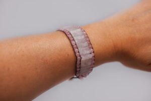 Armband met Rozenkwarts